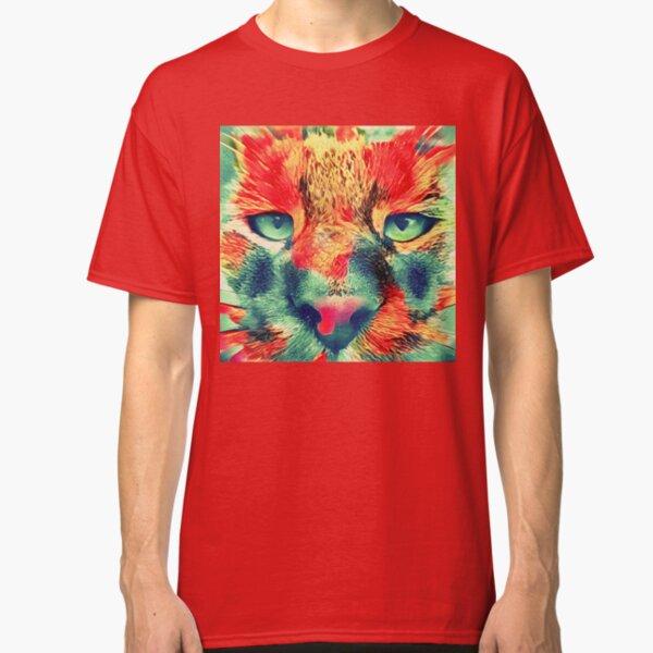 Artificial neural style wild cat Classic T-Shirt