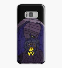 Demon in the mountain - Stained glass villains Samsung Galaxy Case/Skin