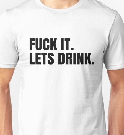 Party Hard Drink Cool Design Unisex T-Shirt