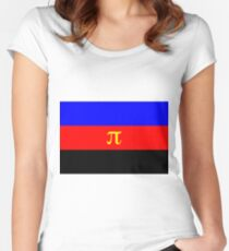 Polyamory Pride Flag Women's Fitted Scoop T-Shirt