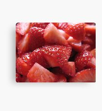 Juicy red Canvas Print