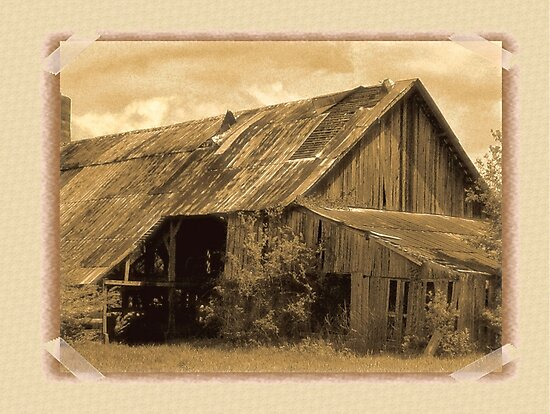 """""""Timeworn Photo Albums and Golden Days""""... prints and products by Bob Hall©"""