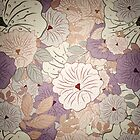 Floral Seamless Grunge Pattern by Olga Altunina