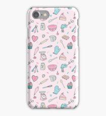 Pink Baking Pattern iPhone Case/Skin
