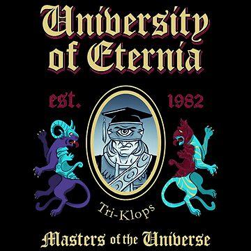 University Of Eternia by Nowonart