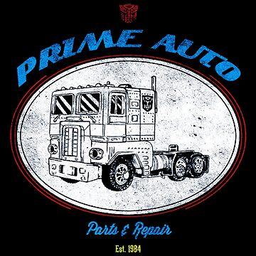 Prime Auto Truck by Nowonart