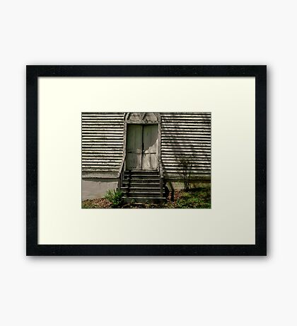 """""""Early Evening at the Church""""... prints and products Framed Print"""