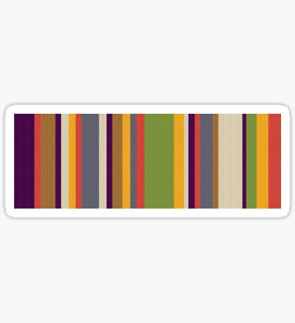Fourth Doctor Scarf Sticker