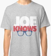 Joe Knows Baseball Classic T-Shirt