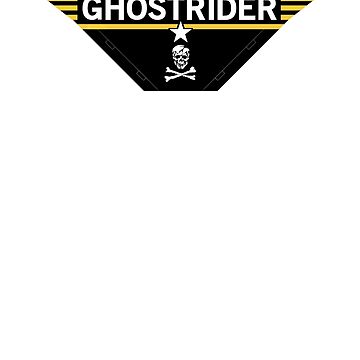 Negative Ghostrider the Pattern is Full - Jolly Roger ed. by GriffintheMad