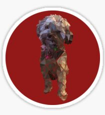 Yorkie Poo Mosaic  Sticker