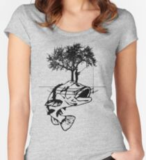 A Fisherman's Dream Women's Fitted Scoop T-Shirt