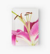 Rosa Stargazerlilie Notizbuch