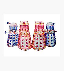 Exterminate ! Photographic Print