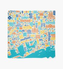 Barcelona City Map Poster Tuch
