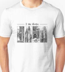 I like gothic - ink graphic Unisex T-Shirt