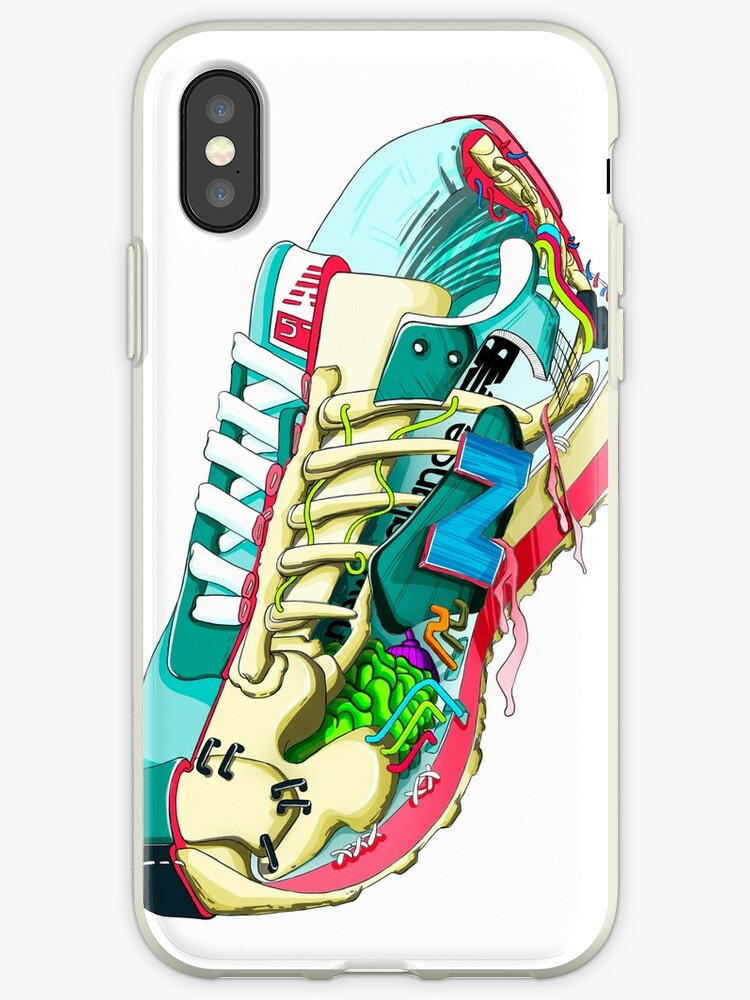 size 40 39c79 7dd01 'NEW BALANCE' iPhone Case by andres medina
