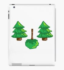 Pixel Trees iPad Case/Skin