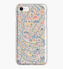 Amsterdam City Map iPhone Case/Skin