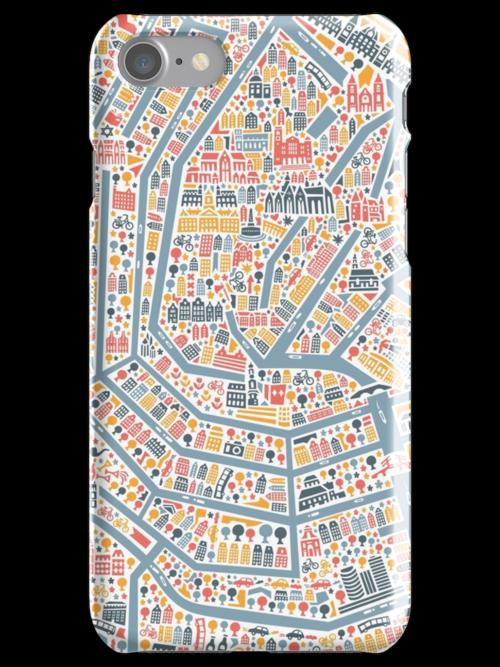 Amsterdam City Map by Vianina