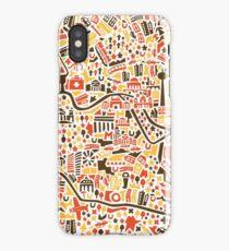 Berlin City Map iPhone Case/Skin
