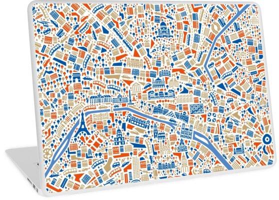 Paris City Map\