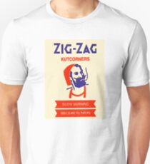 Zig Zag - Rolling Papers Unisex T-Shirt