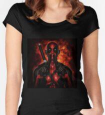 Classic Superhero 2 Women's Fitted Scoop T-Shirt