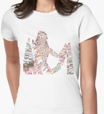 Think Of Me Women's Fitted T-Shirt