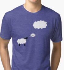 Sheep Cloud Tri-blend T-Shirt