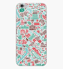 Rome City Map iPhone Case