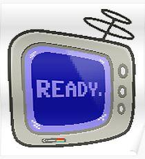 Commodore 64 Monitor Screen TV Poster