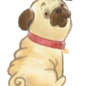 Funny dog by AnnaTram