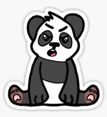 Angry Panda - RC Collection Sticker