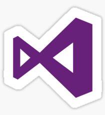Microsoft Visual Studio Sticker