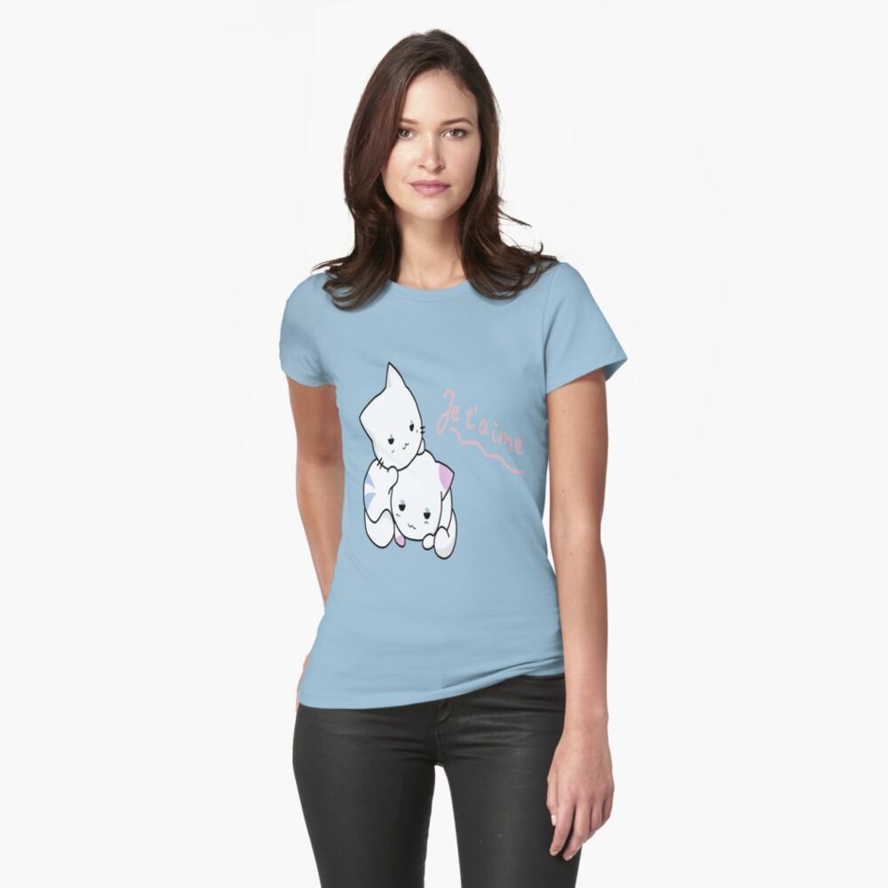 Kittens love Womens T-Shirt Front