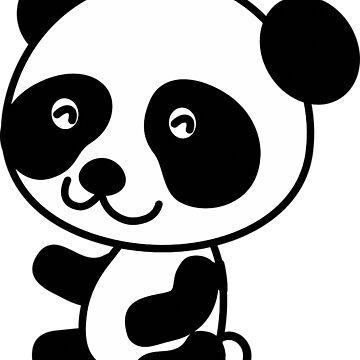 Panda smile by AnnaTram
