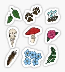 Small Nature stickers Sticker