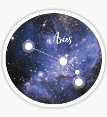 Aries Zodiac Sign, March 21 - April 19 Sticker
