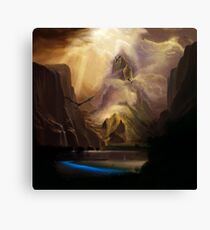 The Middle Mountain Canvas Print