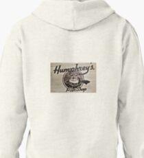 Humphrey's Pilot Shop Woodburned logo Brampton Flight Centre  T-Shirt
