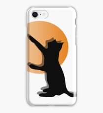 CAT SILHOUTTE iPhone Case/Skin