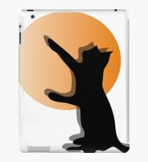 CAT SILHOUTTE iPad Case/Skin