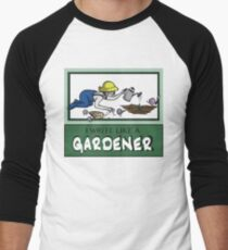 I Write Like A Gardener Men's Baseball ¾ T-Shirt