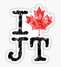 I Love Justin Trudeau Sticker