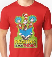 Dr Seuss Reading Quote T-Shirt