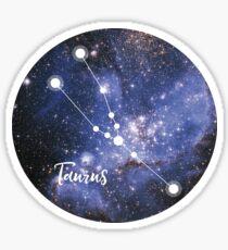 Taurus Zodiac Sign, April 20 - May 20 Sticker
