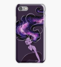 Purple Galaxy Mermaid iPhone Case/Skin