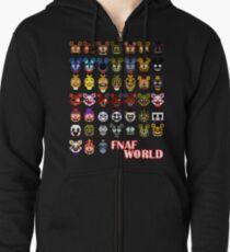 FNAF World Zipped Hoodie