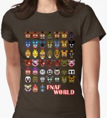 FNAF World Women's Fitted T-Shirt